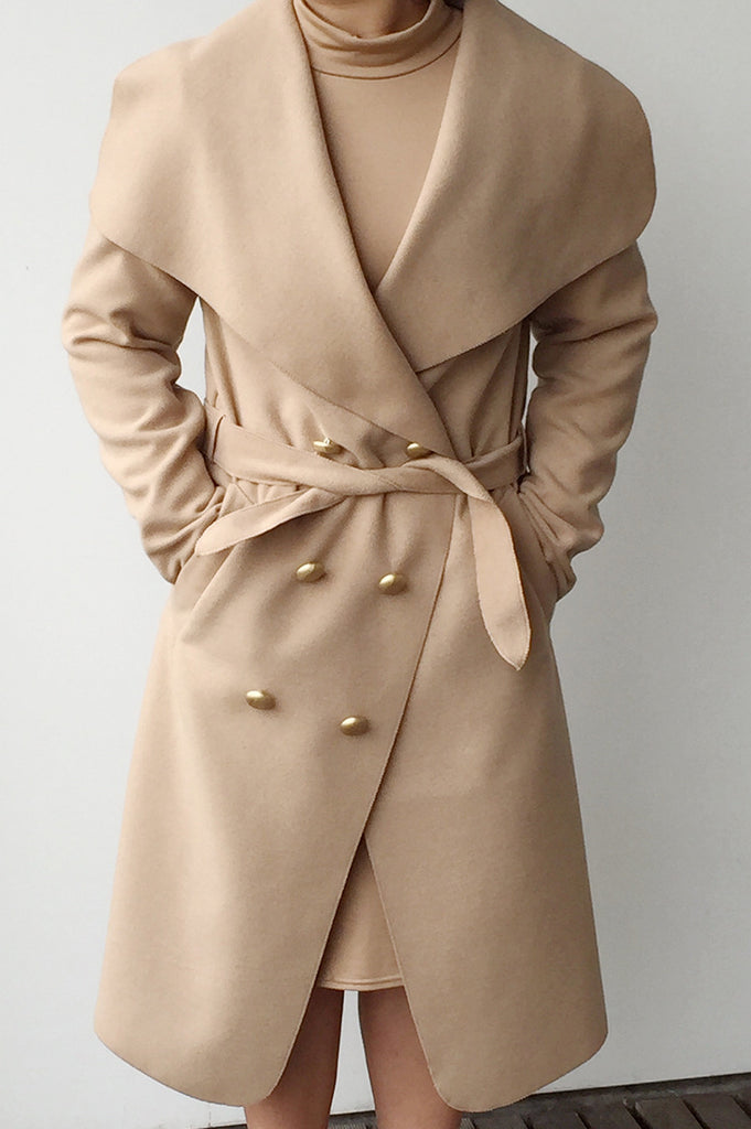 Duster coat camel. This fall duster coat in camel is a fashion must have. Wear this waterfall coat with a stylish pencil skirt and bodysuit.