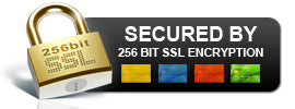 Shop securely with SSL security
