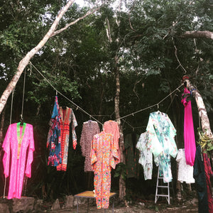 exquisitely*joy kimono *tree at Sacbe and Mayan Sacbe in Tulum Jan 2017