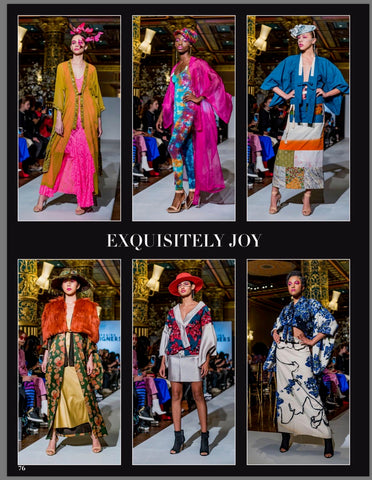Exquisitelyjoy on XMag Cover for NYFW FW2019 Fashion Show