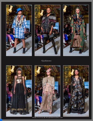 Exquisitelyjoy on XMag Cover for NYFW FW2019 Fashion Show Runway Looks