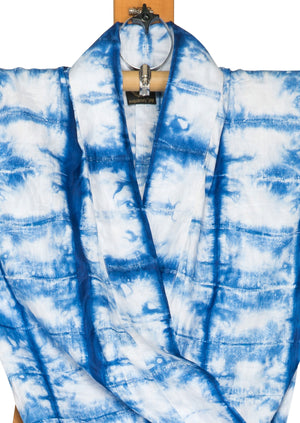 Josephine Kimono Dress by Joy Kimono Close Up Tiedye Kaftan Unique