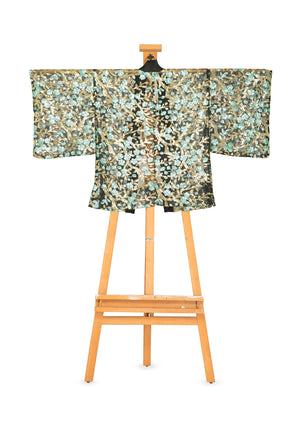 King of the Forest Kimono Blazer by Joy Kimono Back Bromono Sequin