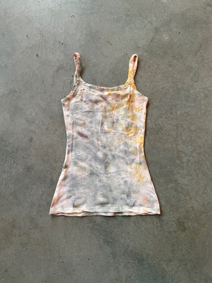 Naturally Dyed Cotton Tank Top + Knicker Set Size S