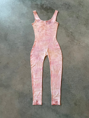 Naturally Dyed Cotton Onesie Size S