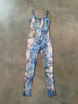 Naturally Dyed Strappy Onesie Size S