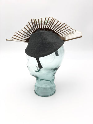 Dusty Hat by Sara Tiara for exquisitely*joy