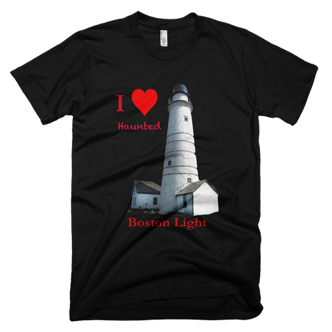 I Heart Haunted Boston Light - T-shirt Plus BONUS Booklet