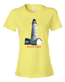 Boston Light Lady's T-shirt Plus BONUS Booklet