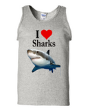 I Heart Sharks - Uni Sex T-Shirt