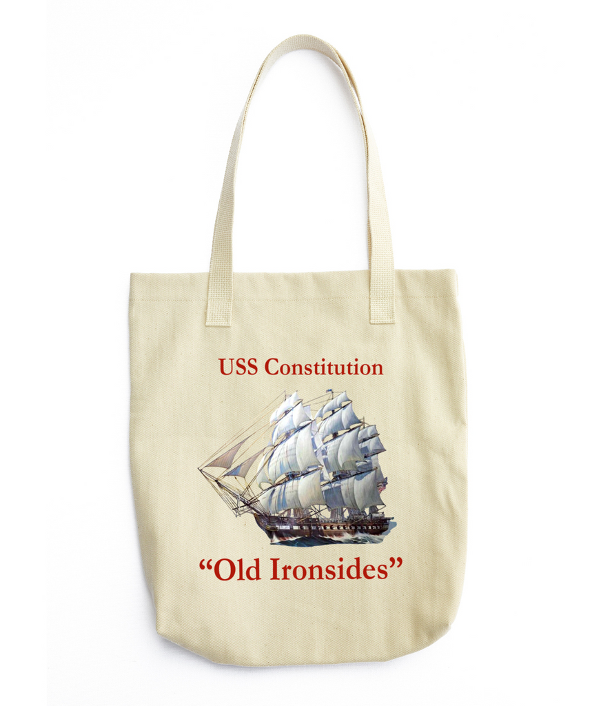 Old Ironside Tote Bag