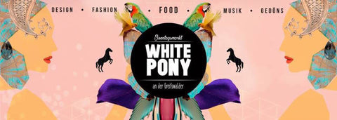 Berlin Summer Market - White Pony