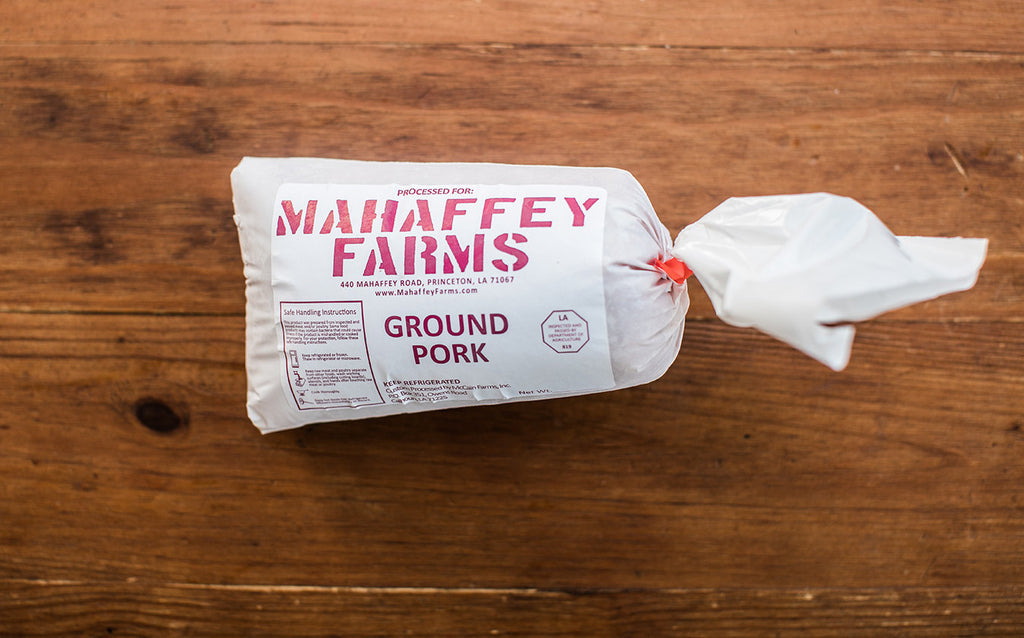Ground Pork - Mahaffey Farms