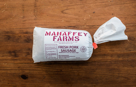 Fresh Pork Breakfast Sausage - Mahaffey Farms - 1
