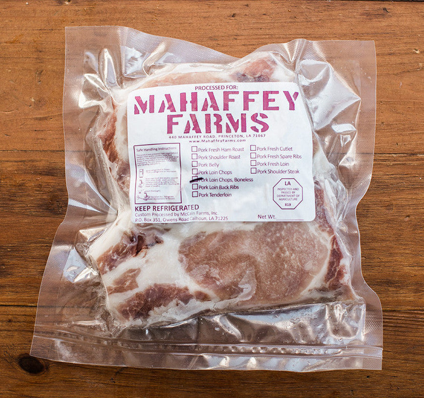 *Thick Boneless Pork Chops* - Mahaffey Farms