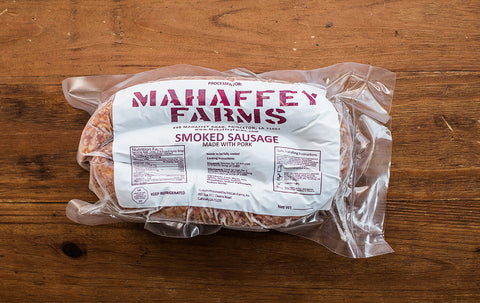 Hickory Smoked Link Sausage - Mahaffey Farms - 1