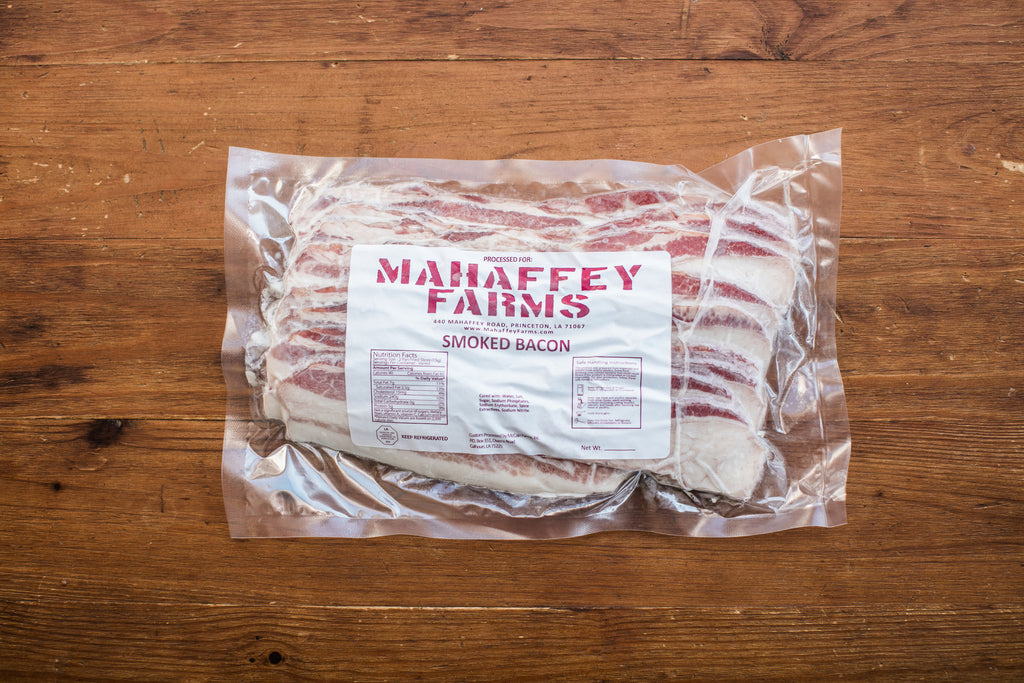 Hickory Smoked Bacon - Mahaffey Farms