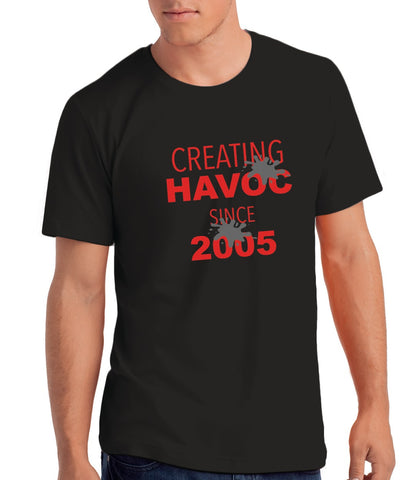 Creating Havoc since 2005 Boys' 16th Birthday T shirt