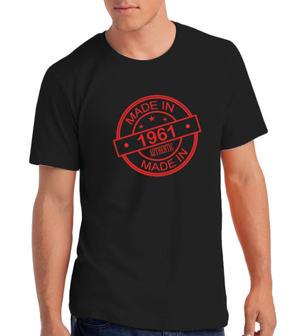 Made In 1961 - Men's 60th Birthday T shirt