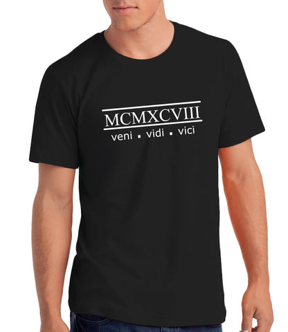 Veni Vidi Vici 1998 - 21st Birthday T Shirt for Men