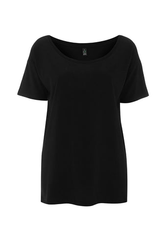 Oversized Tops - Black