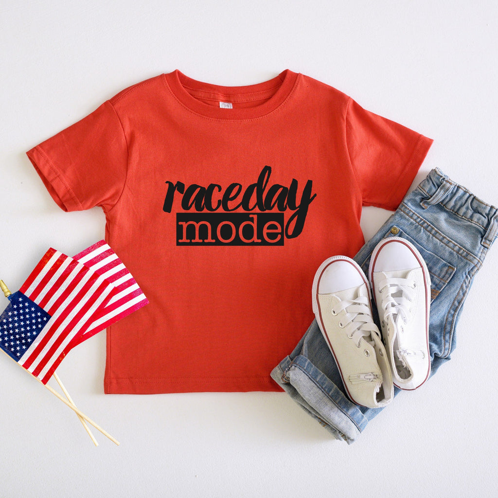 HIGHLINE Clothing raceday mode red shirt youth