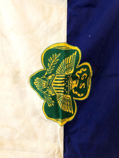 1940'S VINTAGE GIRL SCOUT FLAG