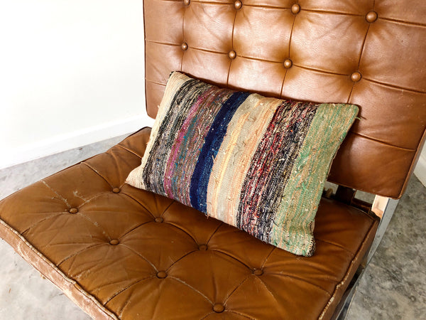 "KILIM PILLOW ""MRS. MILLER"""