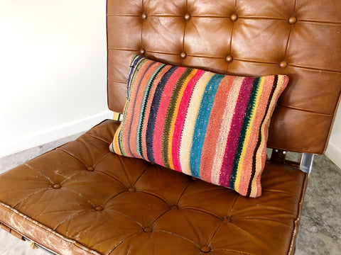 "KILIM PILLOW ""BRITTANY"""
