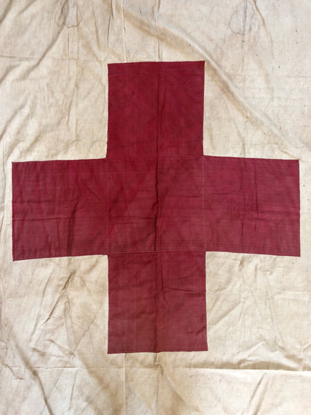 PERSONAL COLLECTION: WW1 ERA MEDIC FLAG #16