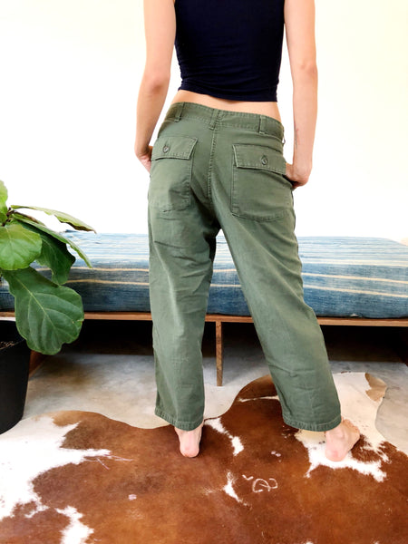 MILITARY BUTTON FLY FIELD PANTS #3