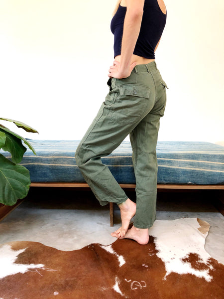 MILITARY ZIPPER FLY FIELD PANTS #1