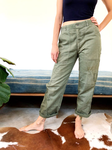 MILITARY ZIPPER FLY FIELD PANTS #2