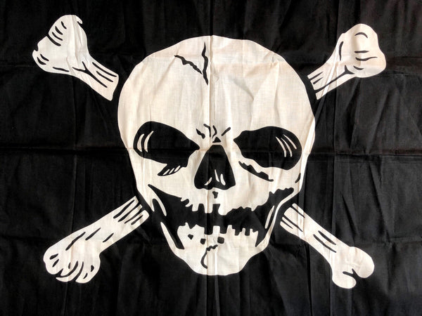 1950'S JOLLY ROGER FLAG