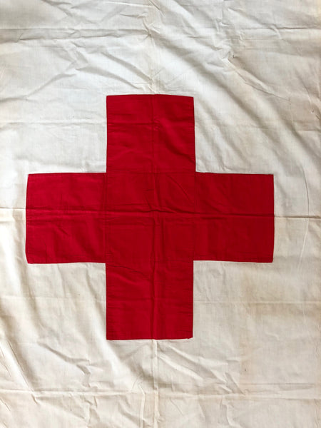 "VINTAGE MEDIC FLAG ""OL LONG JOHNSON"""