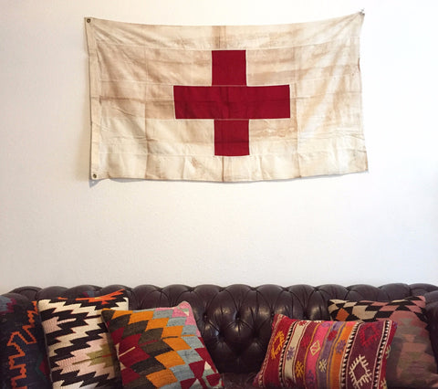 WW2 ERA MEDIC FLAG