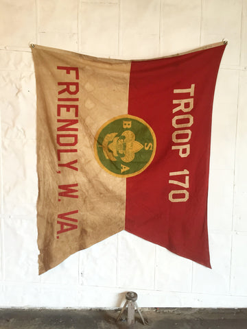 1940'S BOY SCOUT FLAG TROOP 170