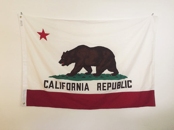 VINTAGE CALIFORNIA STATE FLAG