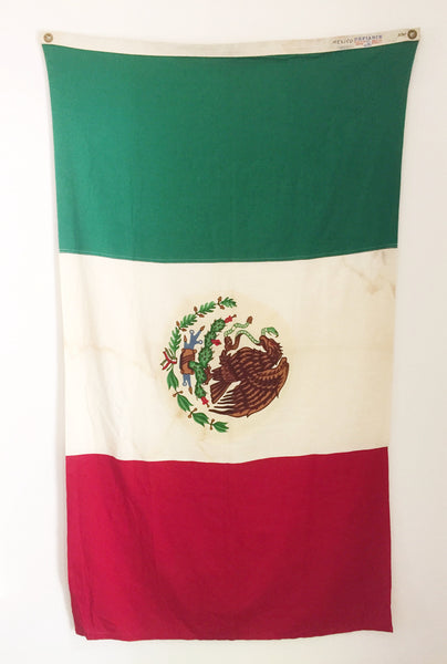 VINTAGE MEXICAN FLAG