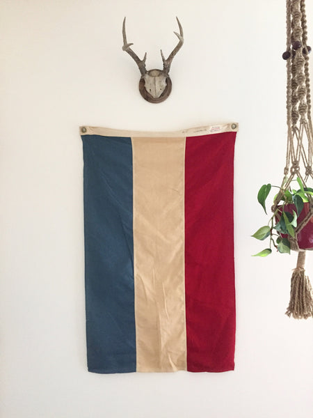 VINTAGE LUXEMBOURG FLAG