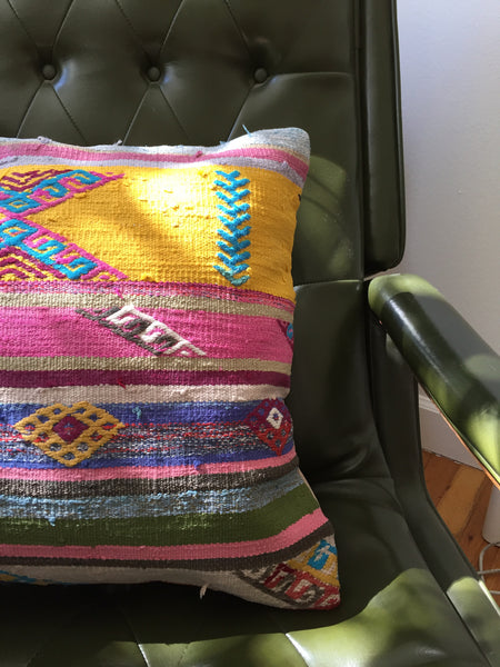 "KILIM PILLOW ""THE NORMA"""