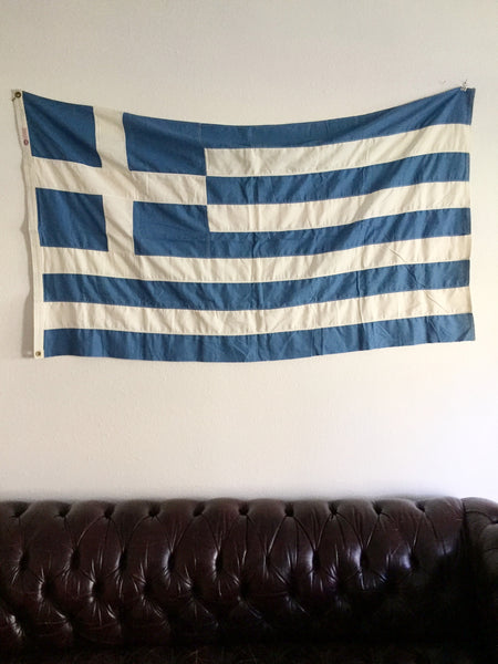VINTAGE GREECE FLAG