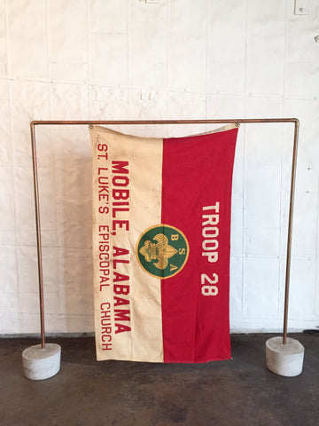 VINTAGE BOY SCOUT FLAG TROOP 28