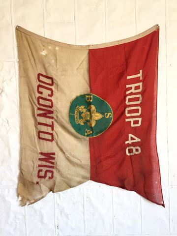 1930'S BOY SCOUT FLAG