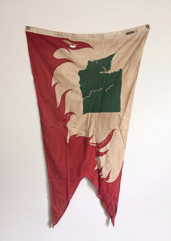 1950'S ALLIED ARTS OF SEATTLE WASHINGTON FLAG
