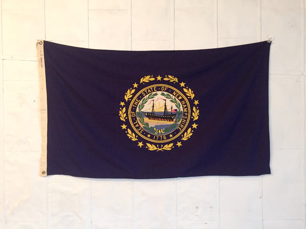 VINTAGE NEW HAMPSHIRE STATE FLAG