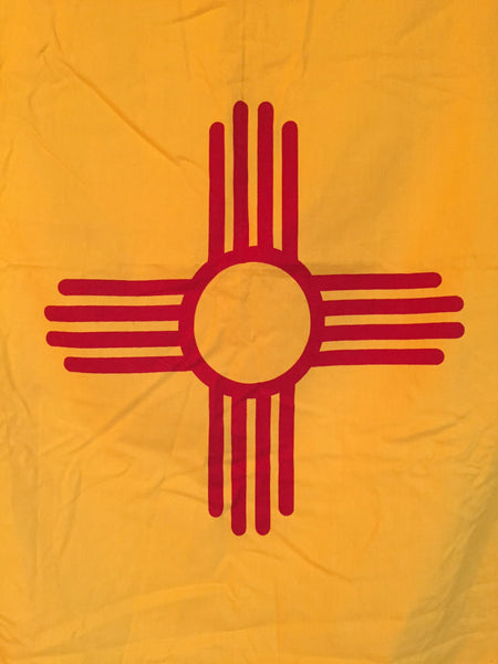 VINTAGE NEW MEXICO STATE FLAG