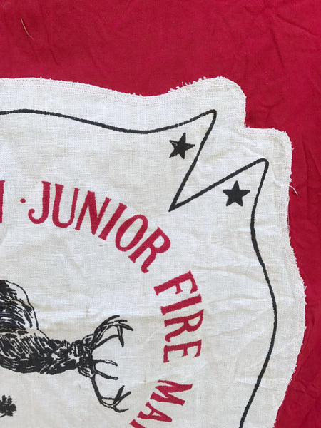 VINTAGE JR. FIRE MARSHAL FLAG