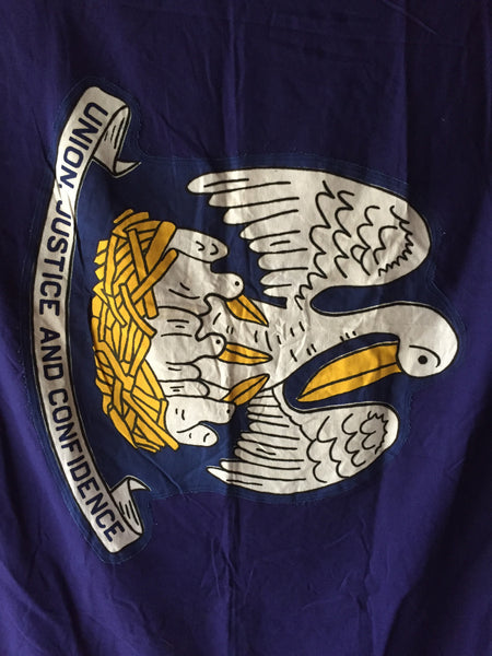 VINTAGE LOUISIANA STATE FLAG