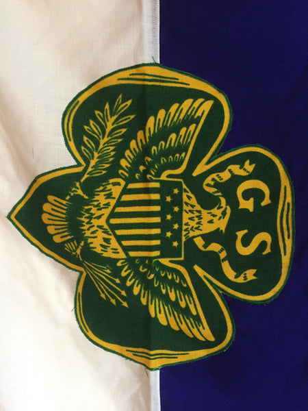 VINTAGE GIRL SCOUT FLAG TROOP 666